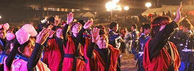 甲冑阿波踊り(四国十河会)