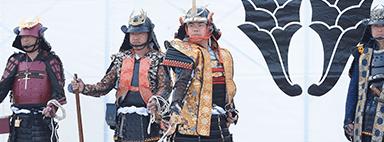 甲冑劇「雲海の渦(うんかいのまか)」